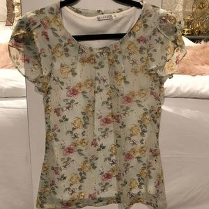 Mika Rose Floral Blouse